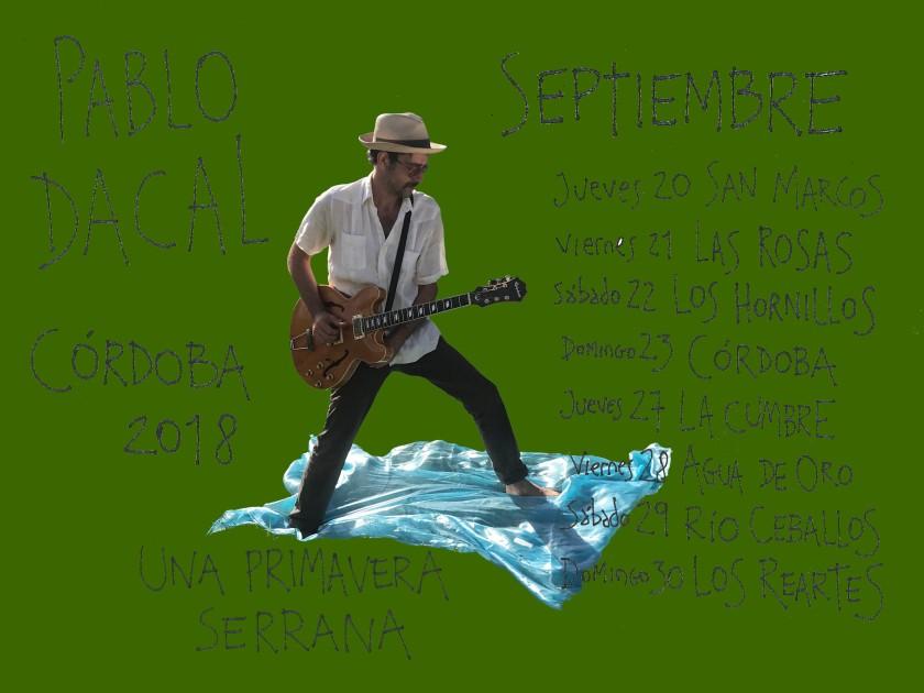 Flyer Dacal Córdoba 2018